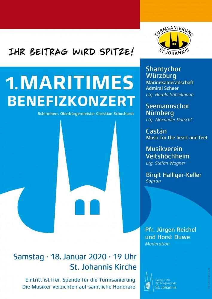 1. Maritimes Benefiz-Konzert